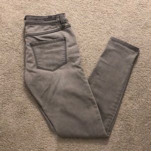 Lauren Conrad Grey Skinny Jeans